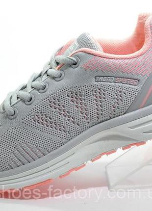 Кроссовки женские Baas, Серый/Розовый, купить недорого