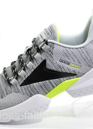 Мужские кроссовки Baas, Серый/Чёрный/Белый, купить со скидкой
