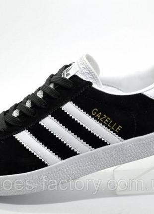 Кроссовки унисекс Adidas Gazelle OG, Чёрный/Белый, купить со с...