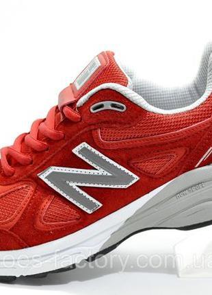 Кроссовки мужские New Balance 990 Classic, Красный, купить