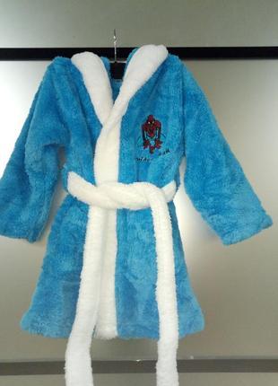 Детский махровый халат 2-4 года