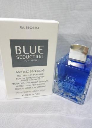 Antonio banderas blue sedaction,мужская туалетная вода 100мл т...