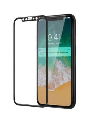 Защитное стекло 5D iPhone XS MAX