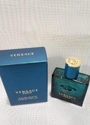 Versace eros мужская туалетная вода 5мл.оригинал