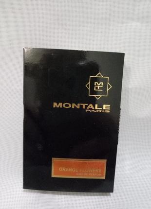 Montale orange flawers миниатюра 2мл,оригинал
