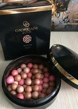 Румяна-бронзер в шариках giordani gold естественное сияние 345...
