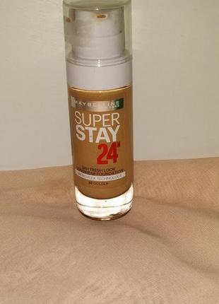 Maybelline super stay 24h fresh look. тональный крем 32 оттенок