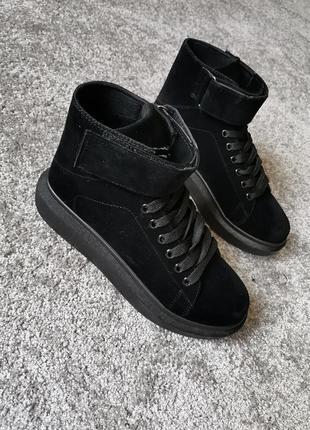 Крутые женские ботинки