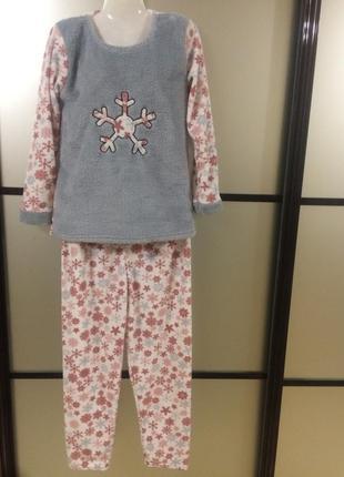 Сезонная распродажа!теплая уютнаю пижама,пр-во турция,есть раз...