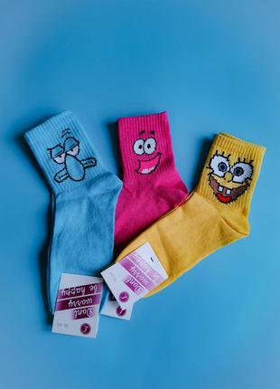 Набор женские носки с принтом