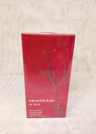 Armand basi in red 50мл женская парф.вода,в наличии разные обьемы