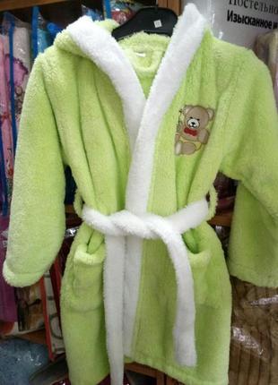 Детский махровый халат 4-6 лет