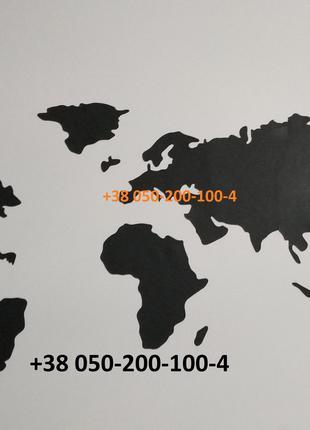 Карта мира карта світу черная карта мира