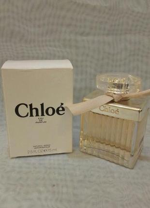 Chloe eau de parfum 75мл тестер,женская парфюмированная вода о...