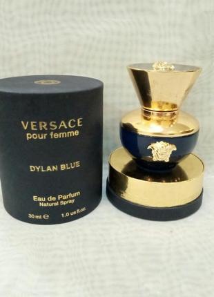 Versace pour femme dylan blue 30мл женская парфюмированная вод...