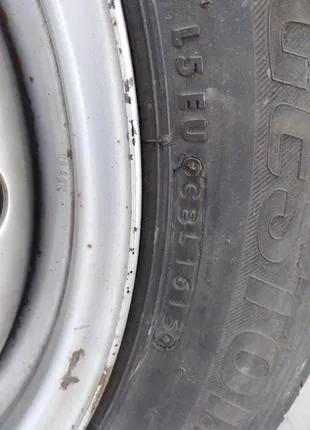 Диски 5х112 ЕТ54 резина Bridgestone 195 65 R16C Mercedes Vito