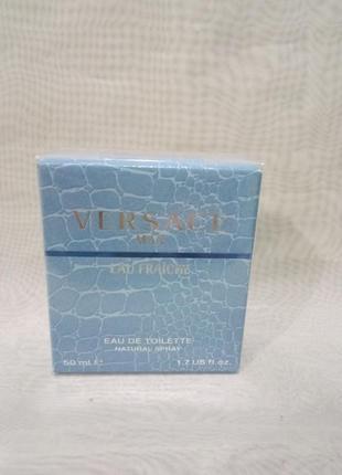 Versace  eau fraiche,30мл мужская туалетная вода.оригинал.есть...