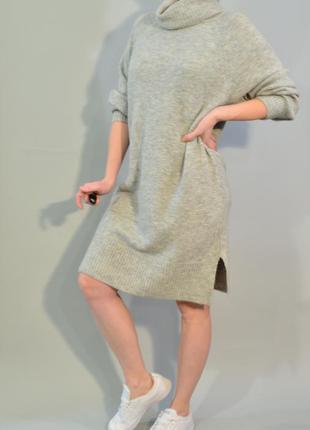 4235\130 платье свитер серого цвета f&f xxl