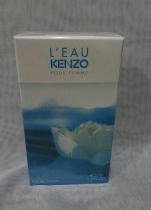 Kenzo l'eau pour femme,50мл женская туалетная вода,оригинал.