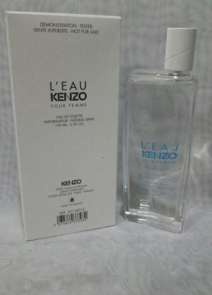 Kenzo l'eau pour femme,100мл тестер, женская туалетная вода,ор...