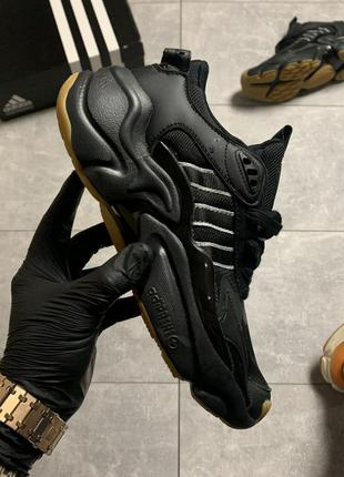 🖤🖤🖤adidas magmur runner triple black🖤🖤🖤мужские кроссовки