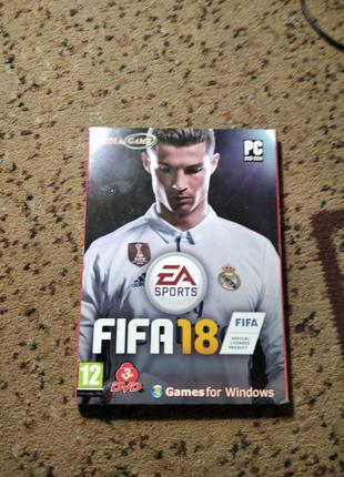 Диск на ПК FIFA 18