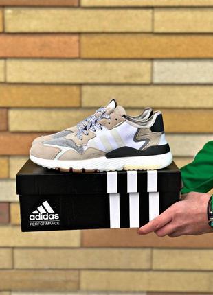 Мужские кроссовки adidas nite jogger😍