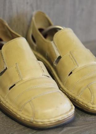 Легкие кожаные туфли  josef seibel 44-45