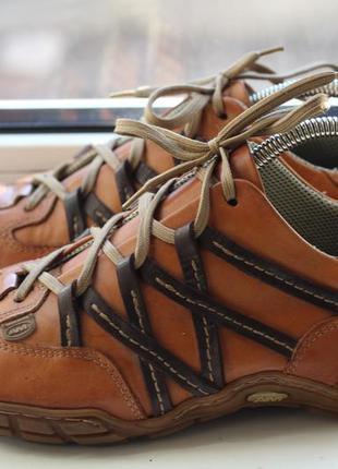 Кожаные туфли кроссовки am 41 разм.
