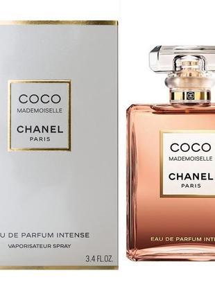 Chanel coco mademoiselle eau de parfum intense, мини,женская п...