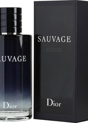 Christian dior sauvage парфюмированная вода,миниатюра