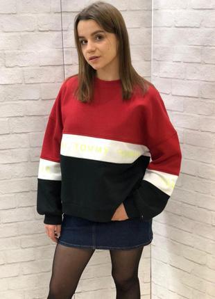 Стильный теплый свитер tommy hilfiger