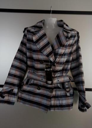Куртка весна/осень в клеточку