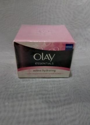 Olay essential ночной увлажняющий крем