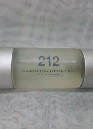 Carolina herrera 212  женская туалетная вода 30мл