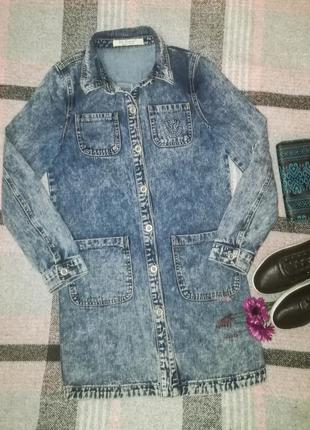 #розвантажуюсь длинная джинсовая куртка