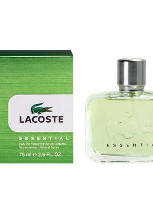 Lacoste essential тестер 125мл туалетная вода