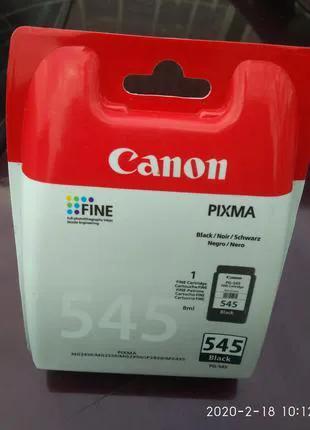 Картридж для принтера Canon PIXMA 545 черный
