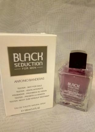 Antonio banderas black seduction туалетная вода