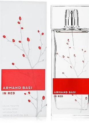 Armand basi in red туалетная вода 100мл
