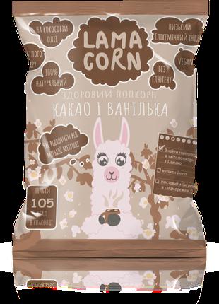 Какао и ваниль - здоровый поп-корн