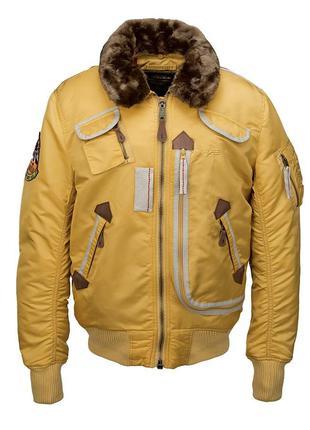 Куртка Injector Alpha Industries (жовта)