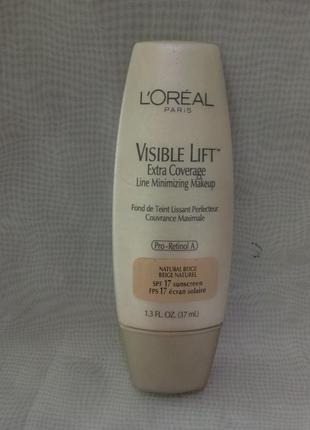 Тональный крем loreal visible lift 17 natural beige