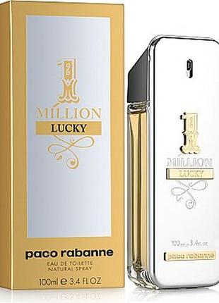 Paco rabanne 1 million lucky туалетная вода 100мл