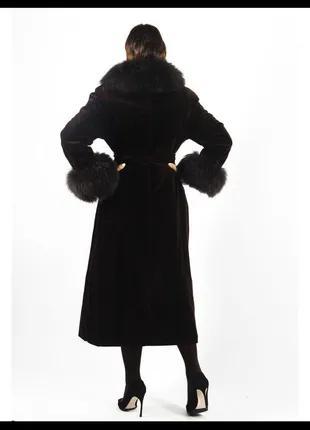 Пальто, мех ламы (100%)