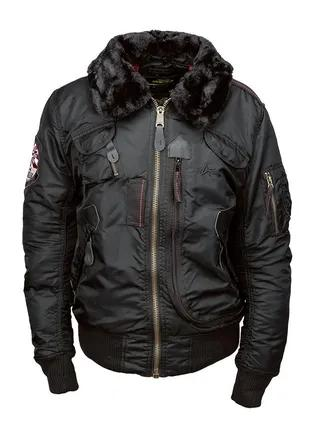 Оригінальна куртка Injector Alpha Industries (чорна)