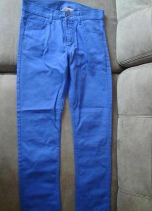 Джинсы штаны высокая посадка