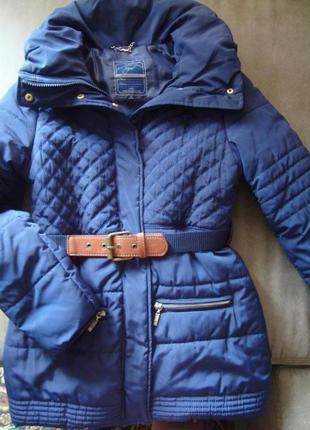 Куртка с объемным воротником