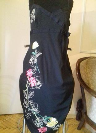 Karen millen шелк)платье