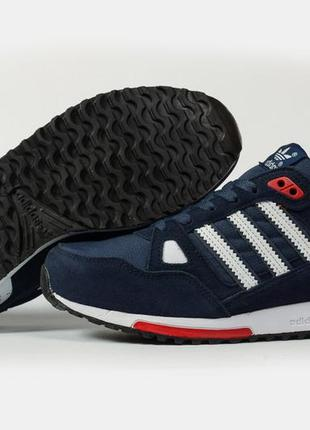 💣 кроссовки мужские 16764 ► adidas zx 750, темно-синие